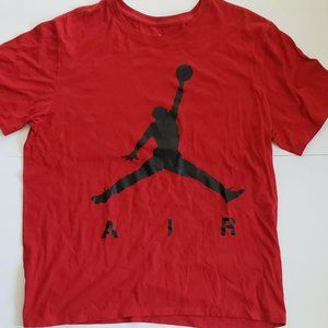 Nike Air Jordan Jumpman T-shirt Men's XL Red Black